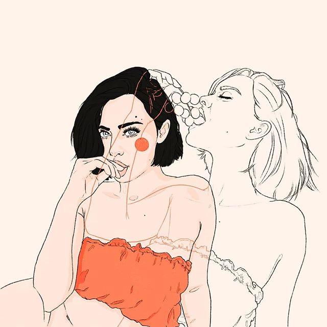Life is to be relished 🍒 Art by⁣ @julika.illustration Reference from @city.ports @drtzed @jerivecchione⠀ .⁣⠀ .⁣⠀ Tag #womenofillustration for a chance to be featured or become a Patron for a paid promo.⁣ Link in bio⁣⠀ .⁣⠀ .⁣⠀ #art #artist #artwork #artgirl #femaleart #creative #creativity #illustration #illustrator #illustracion #femaleillustrator #femaleartist #womanartist #femaleartists #womenartists #womeninart #fashionillustration #selflove #getitgirl #adultart #digitalart #linework #doubleexposure #blackwork #figurativedrawing #contemporaryillustration #lineart #instaart #editorialillustration