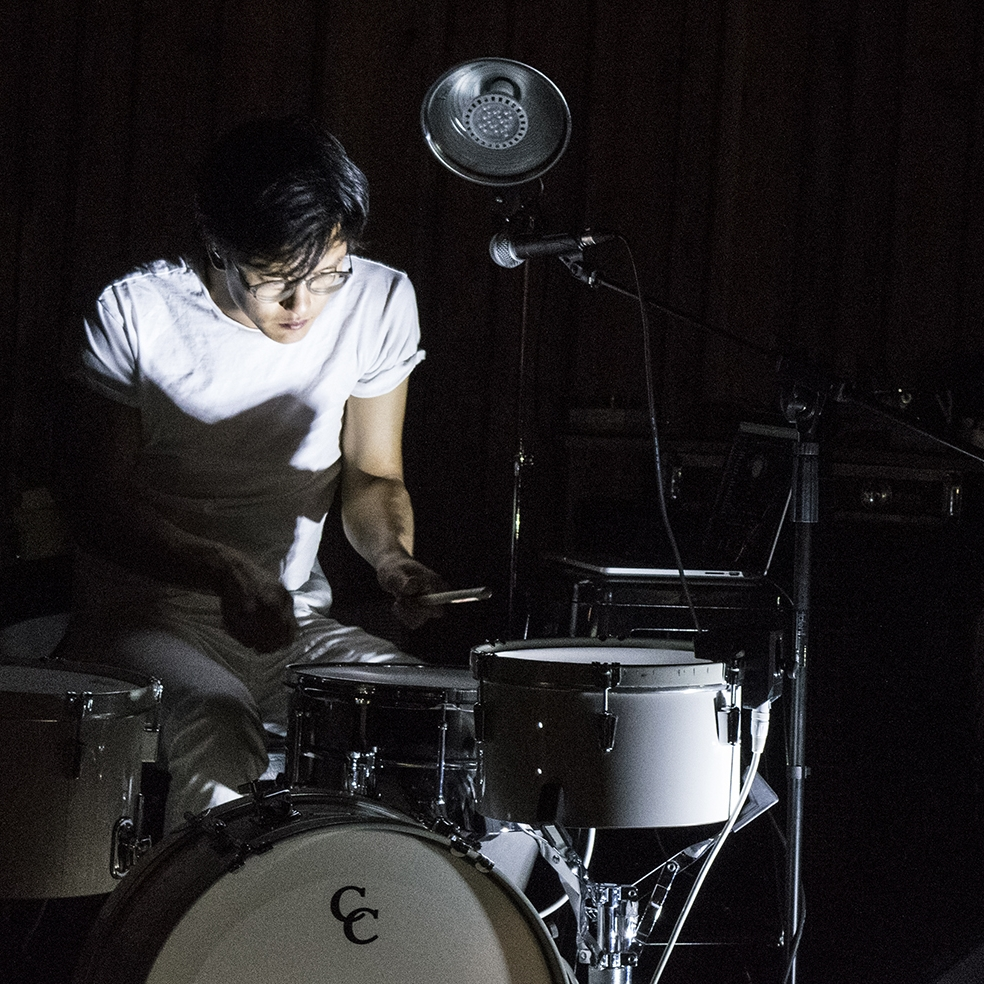 Ian Chang - Son Lux drummer whose (at the time) unreleased first solo EP, Spiritual Leader, was used as the soundtrack for the PRESERVATIONS show.