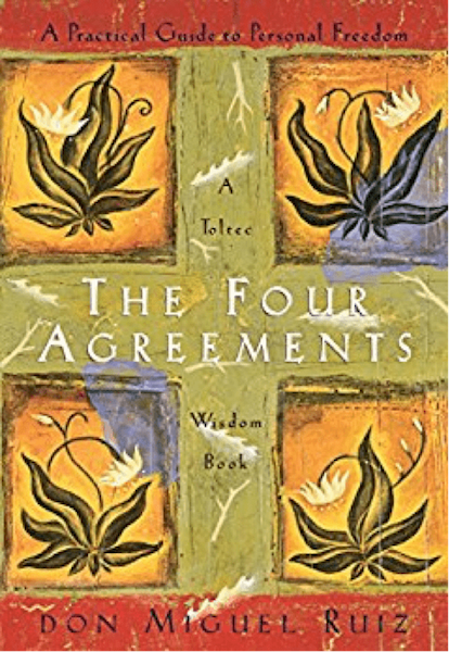 The 4 agreements book cover