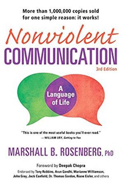 Nonviolent Communication book cover