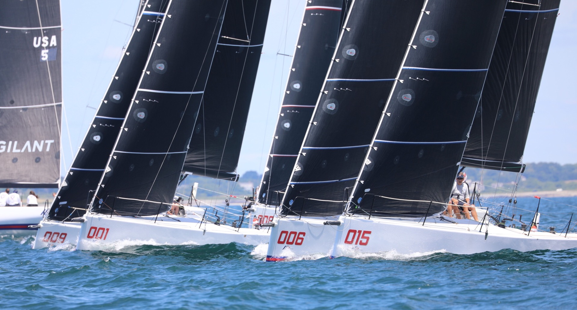 GRINS AND GLAMOR FOR MELGES IC37 CLASS AT THE NEW YORK YACHT