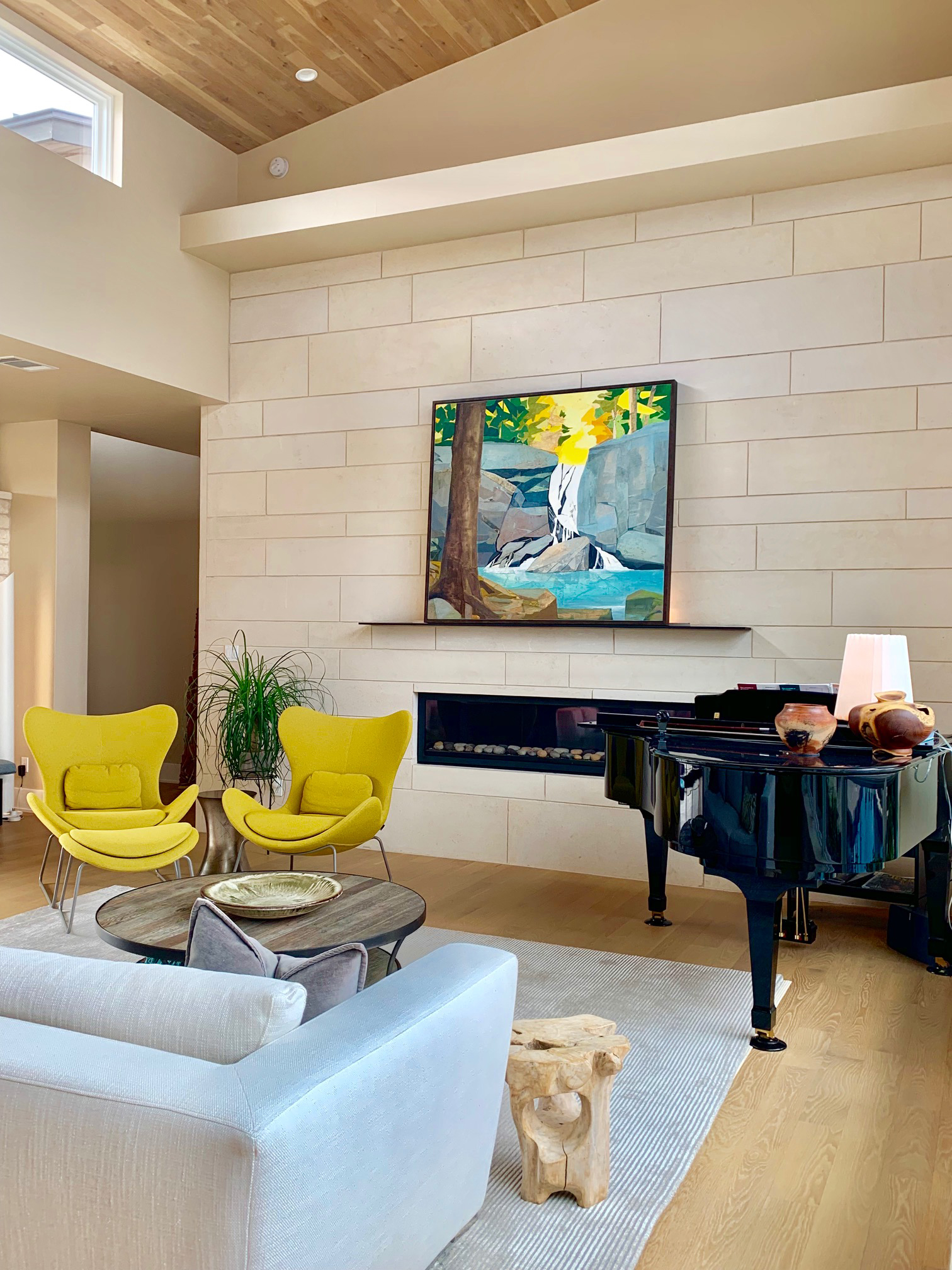 INSTALLATION SHOT: It's Your Brook I have Nothing More to Say, has found a beautiful new home in Texas.