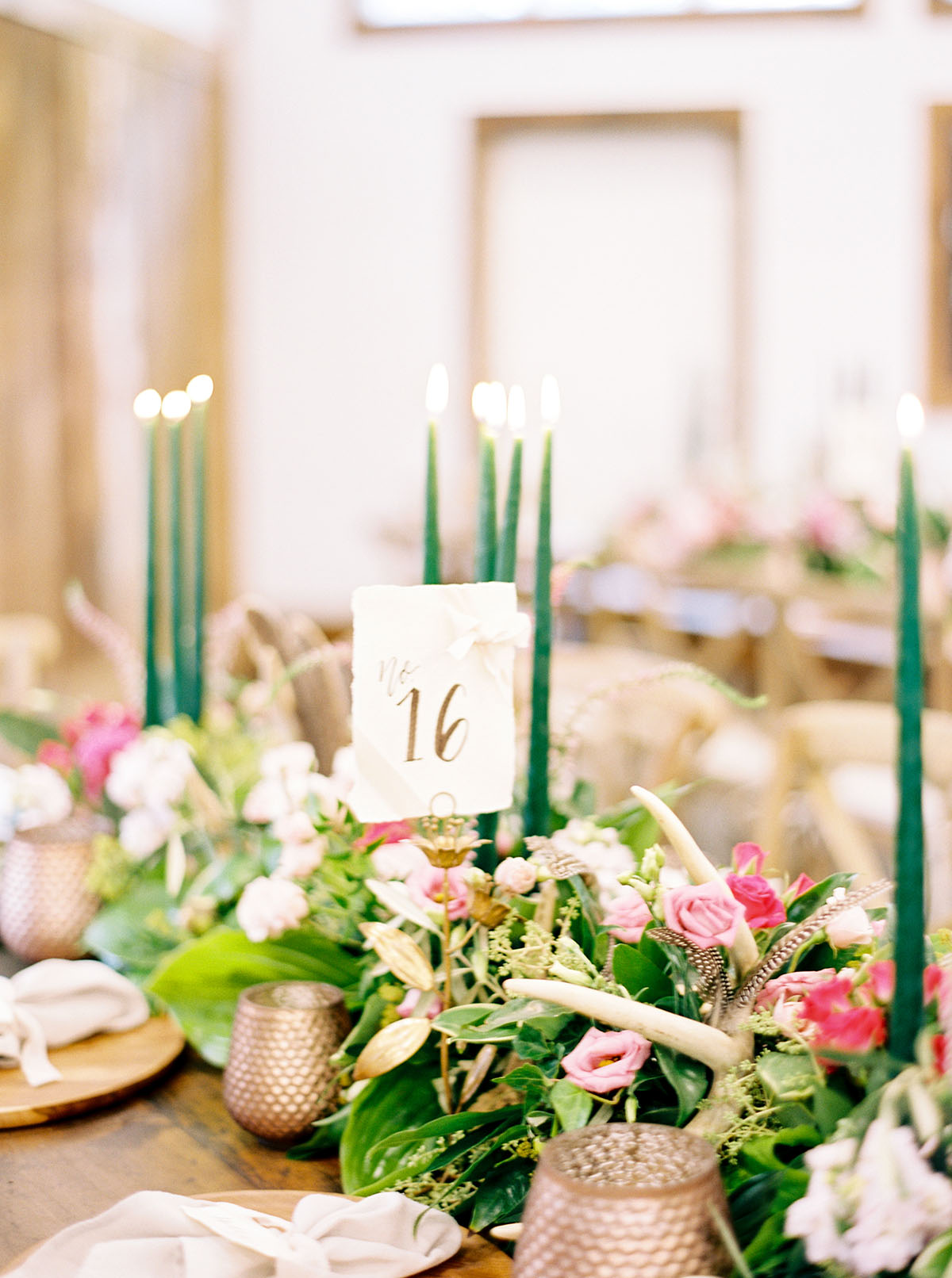 Place Card Holders and Candle Votives