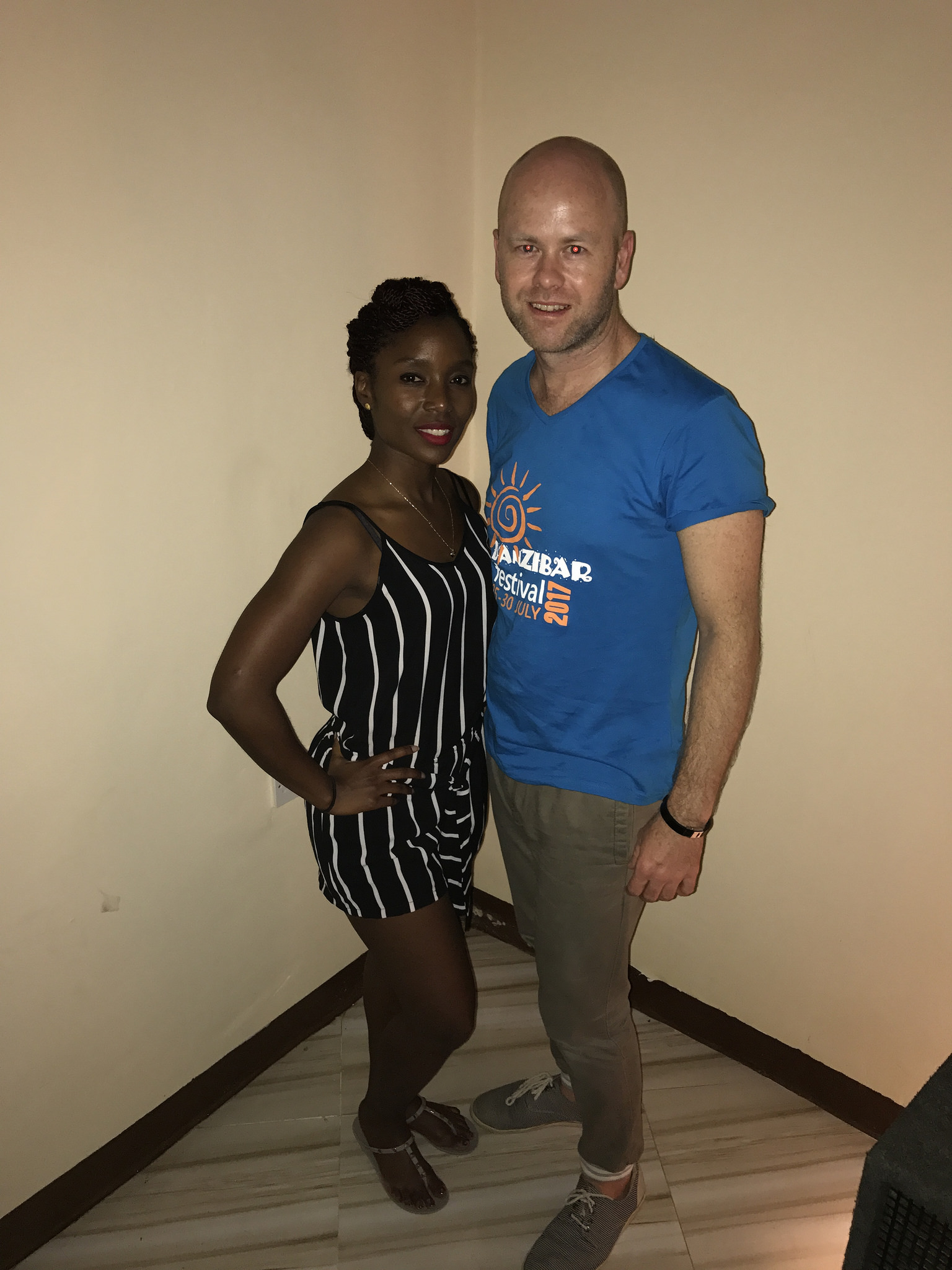 Ryan Hill & Maria Mvungi