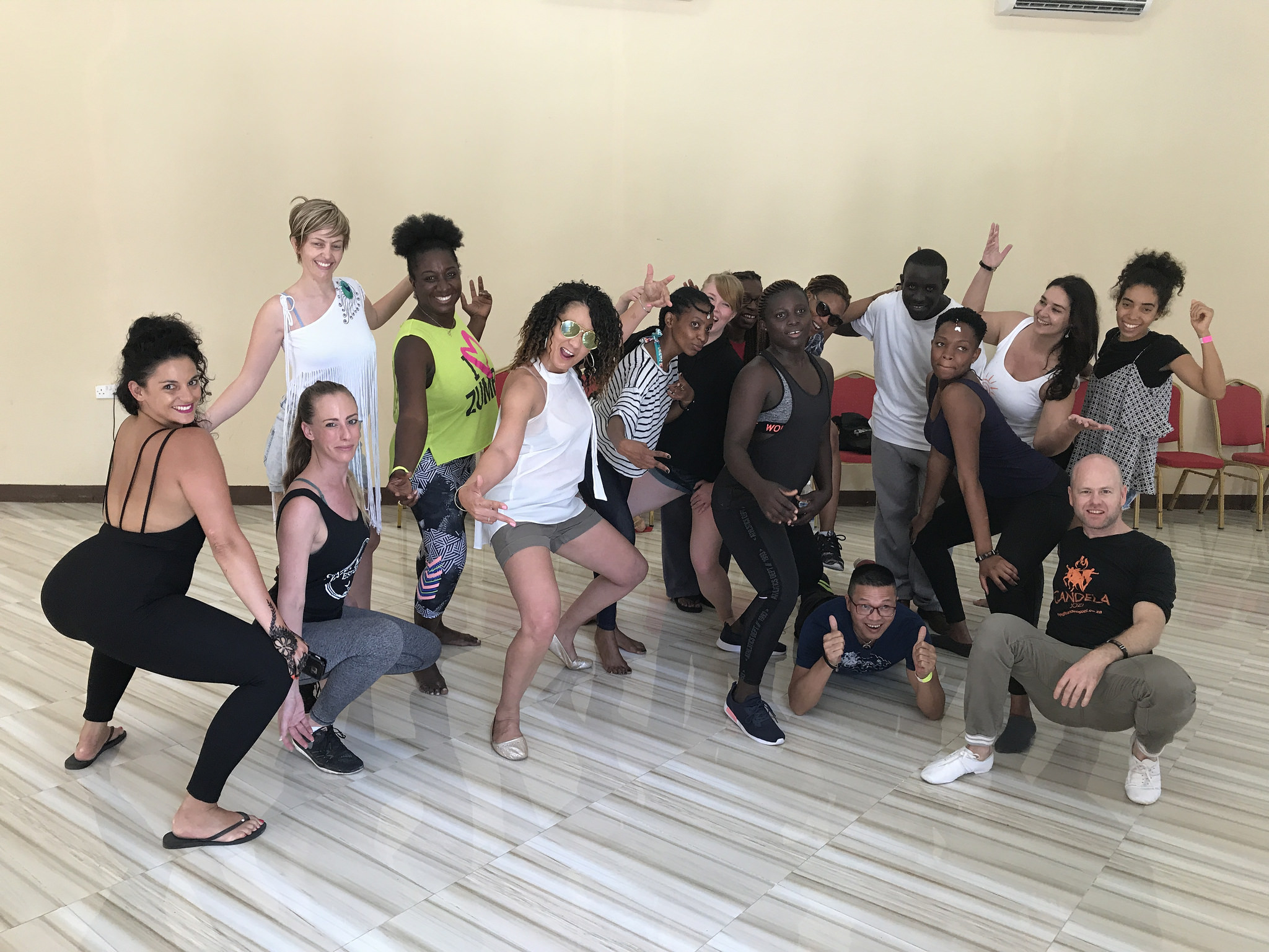 Reggaeton workshop class photo - Cat Candela Jozi Dance Co