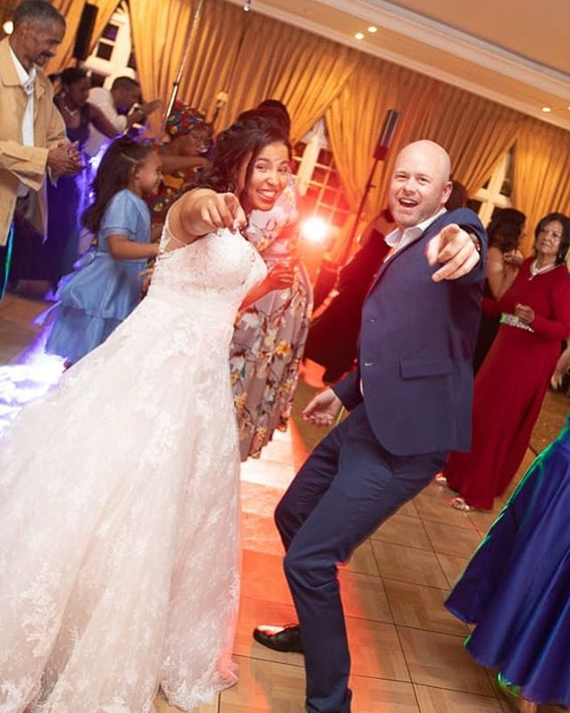 Our team member and awesome #passista @kelly_botes got married in April and we had the honour of being there (and dancing!) check out @rdwhill and Kelly busting a groove at the party ... #wedding #dancing