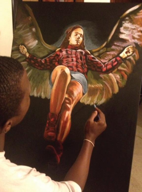 Asending Angel