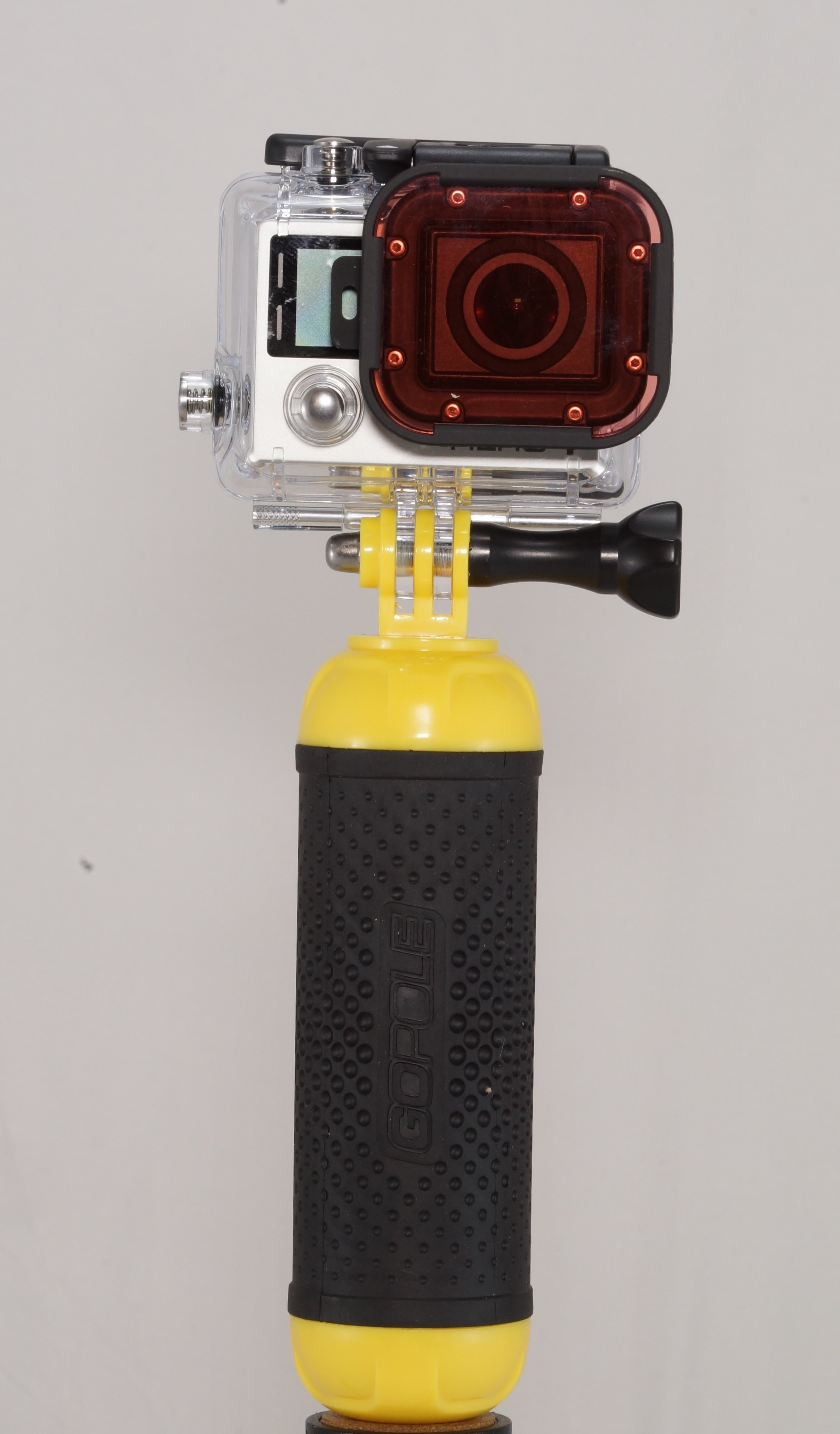 GoPro's  We rent GoPro's mounted on a floating handle with a wrist strap and snorkel filter to improve your colors. Captures 1080p video   12 megapixel photosWe also have accessories for your own camera to buy or rent -