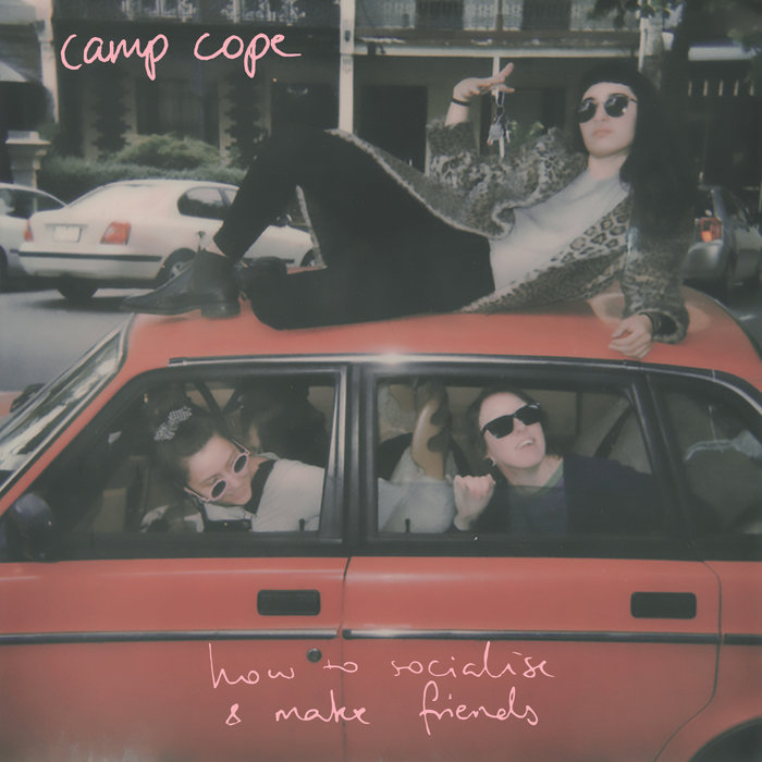 How to Socialise and Make Friends - Camp CopeMarço/2018Run for Covers RecordsPunk rockO que achamos: Bom