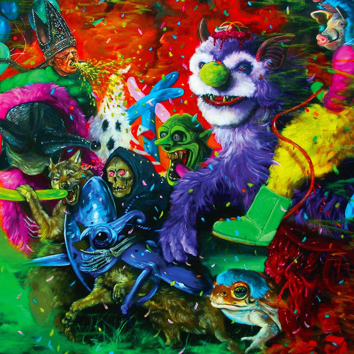 A Laughing Death in Meatspace - Tropical Fuck StormMistletone/ TFS RecordsMaio/2018Rock psicodélico, Noise RockO que achamos: Excelente