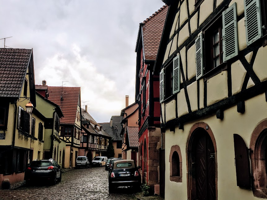 Guide to Alsace - the town of Kaysersberg town