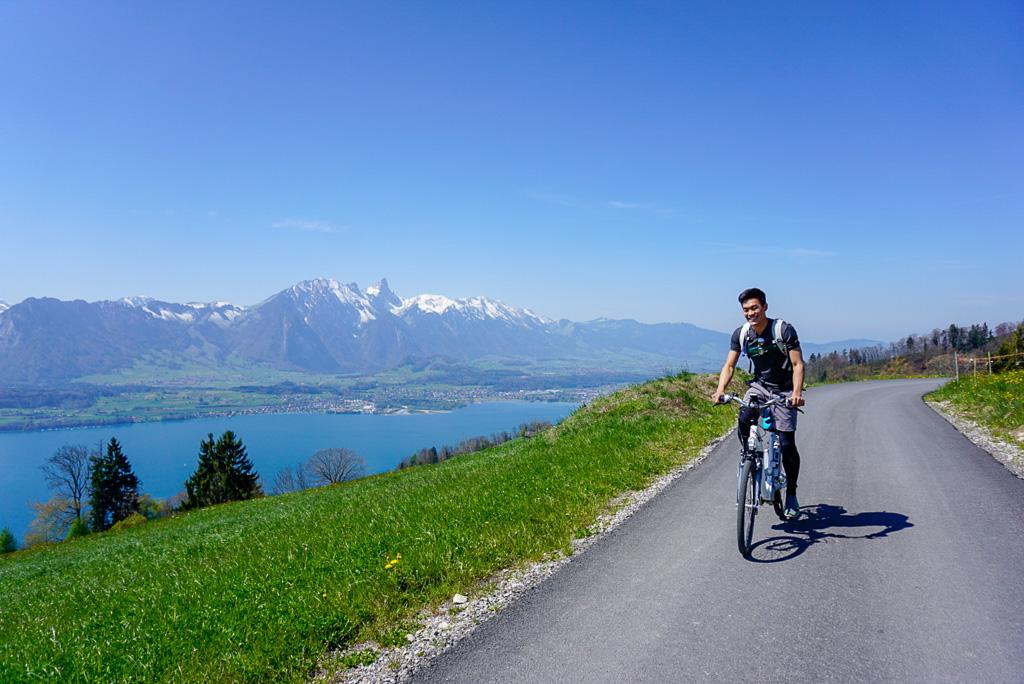herzroute-lake-thun-langnau-cycling