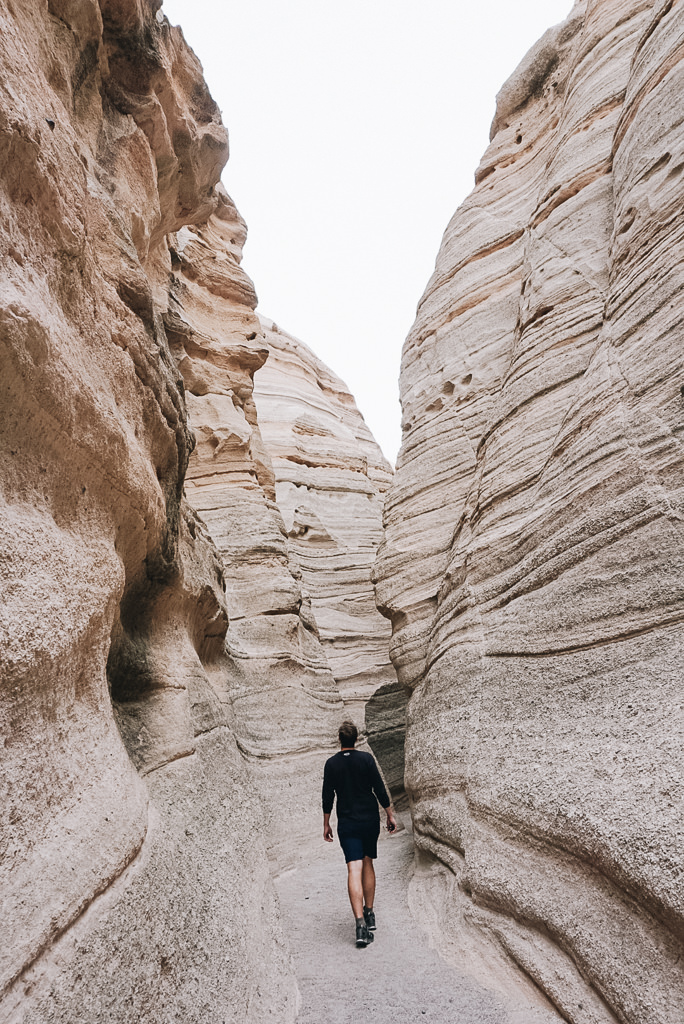 Slot Canyon in New Mexico