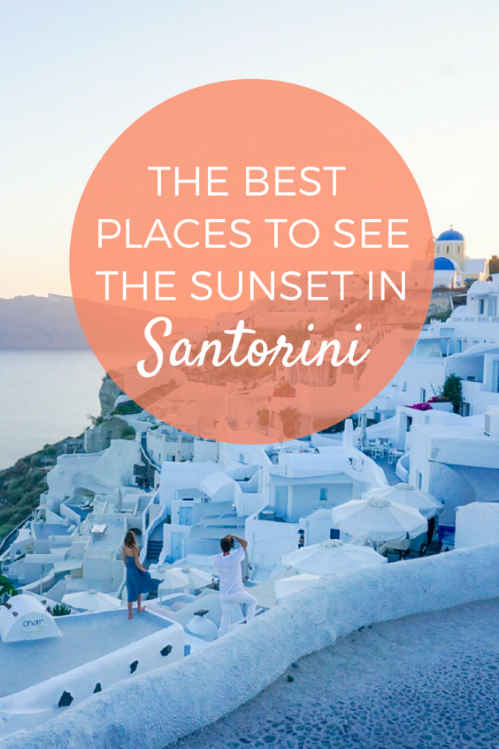 The best places to see the sunset in Santorini