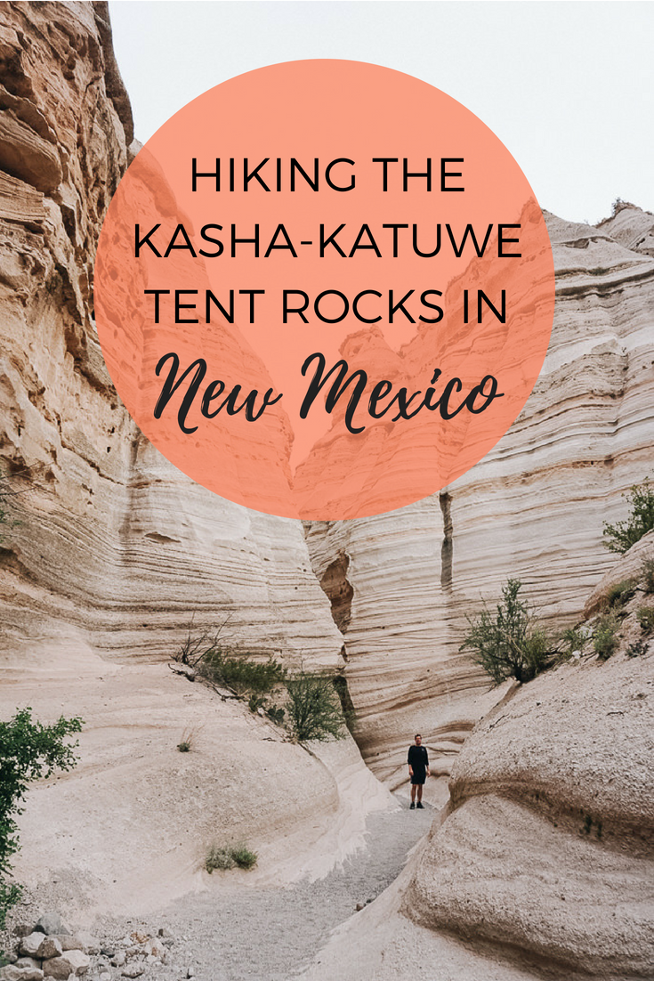 Hiking the Tent Rocks Canyon Trail in New Mexico