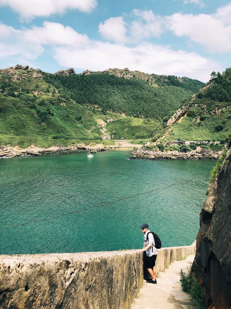 coastal hike from San Sebastian to Pasajes de San Juan