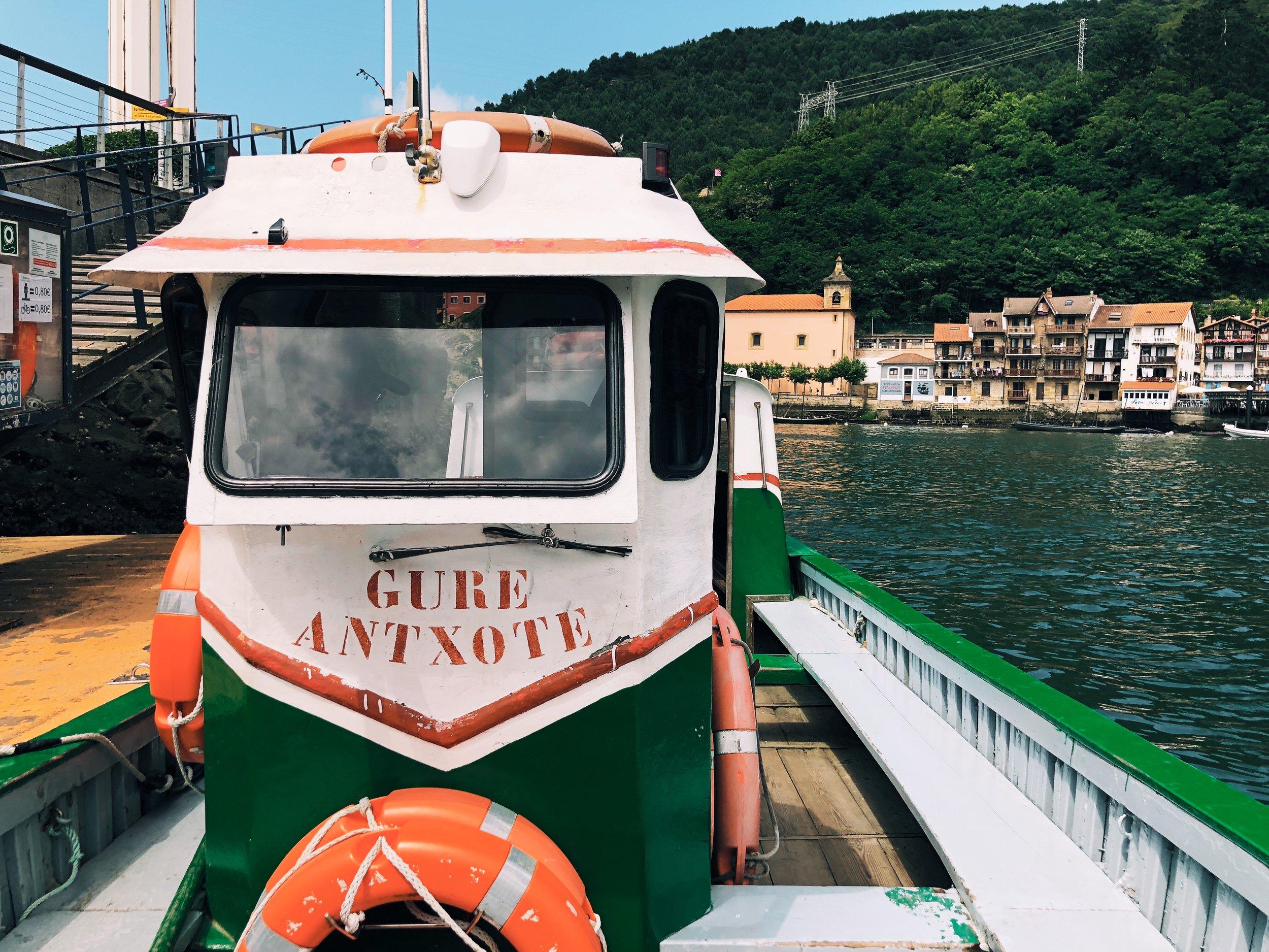 Pasajes de San Juan ferry ride