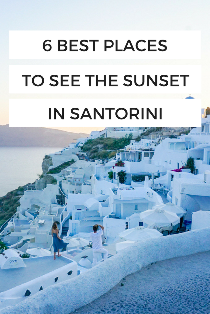 Best places to see the sunset in Santorini