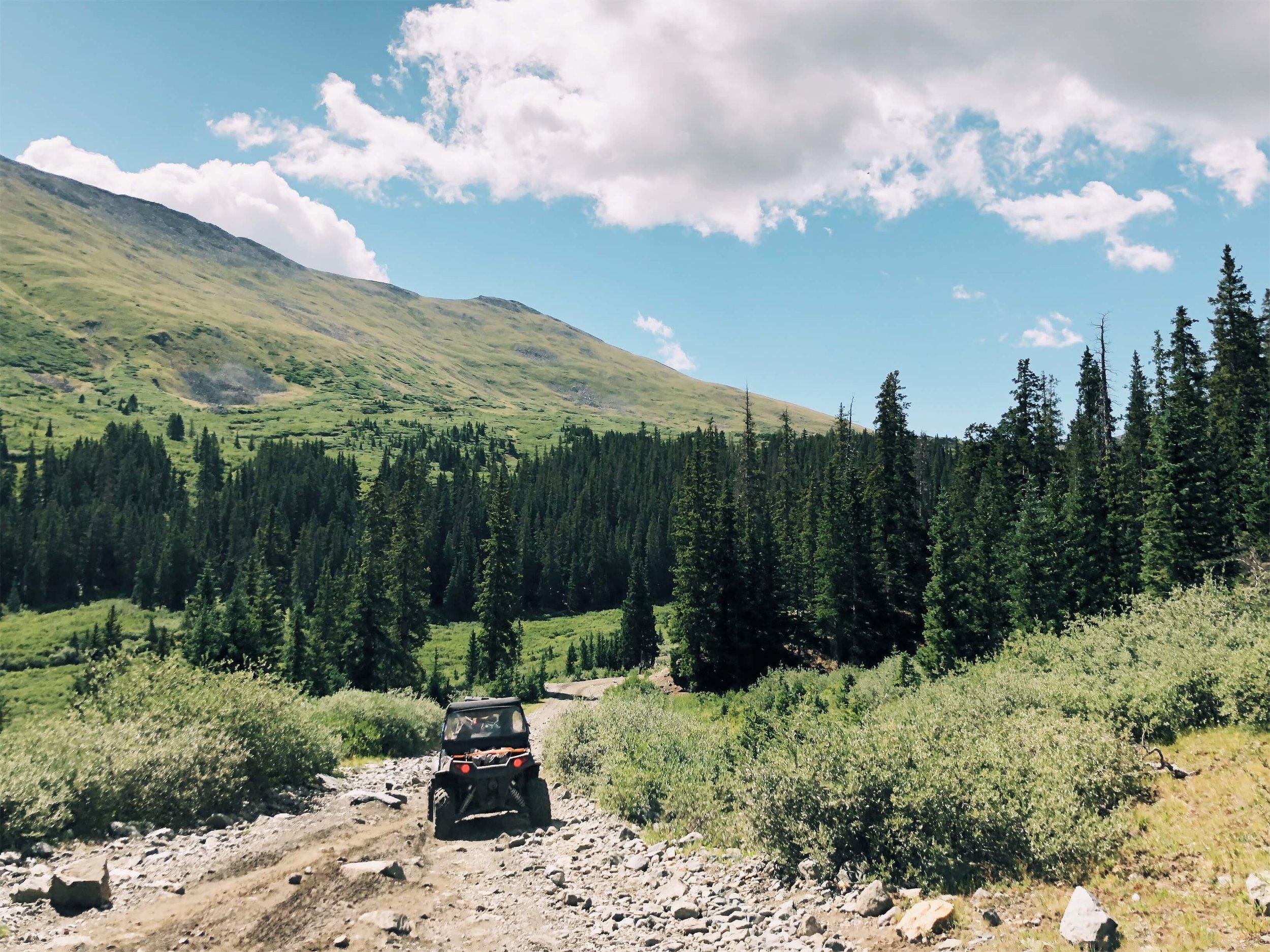 ATV in Buena Vista Colorado