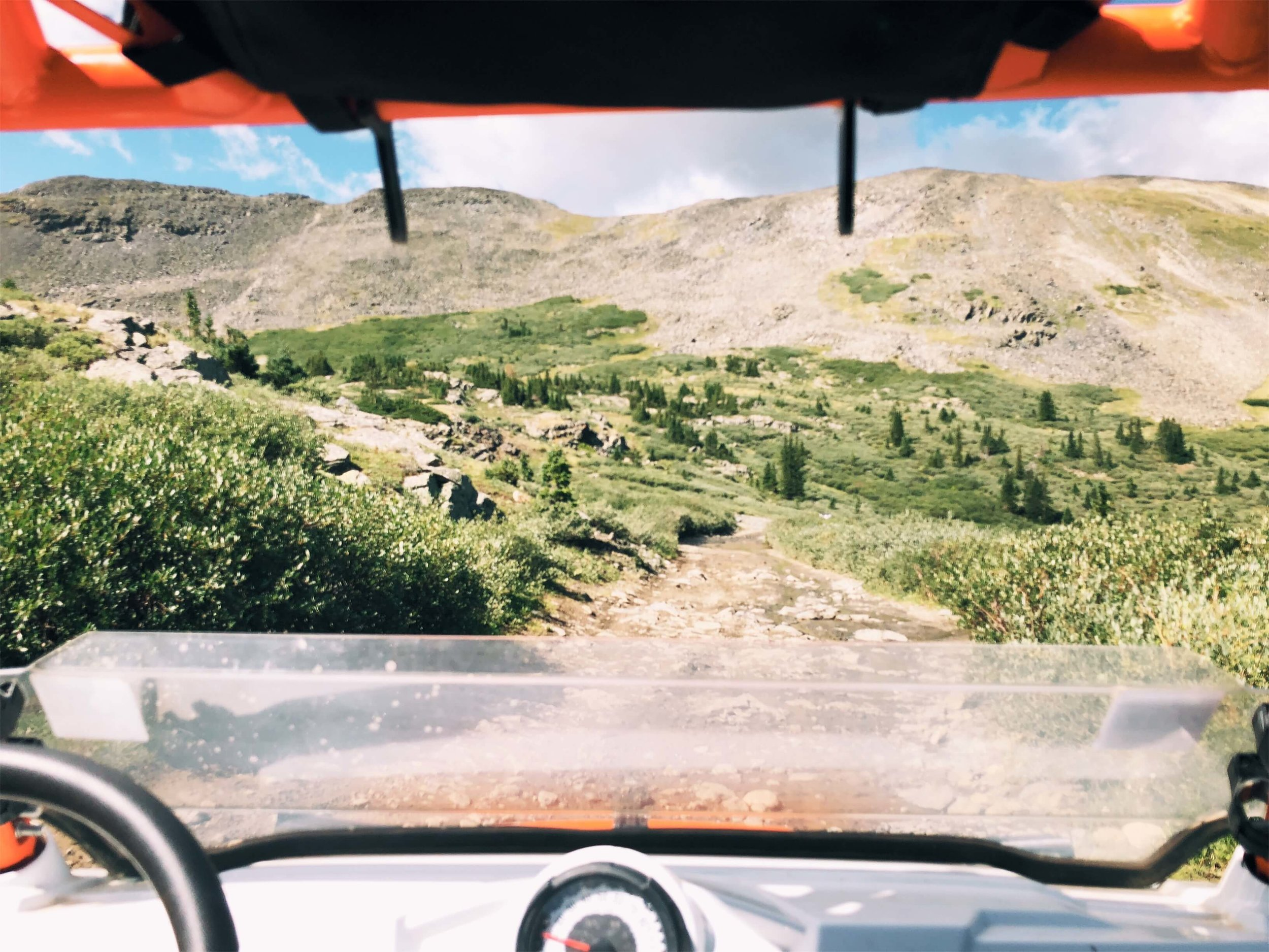 driving side by side ATV Colorado