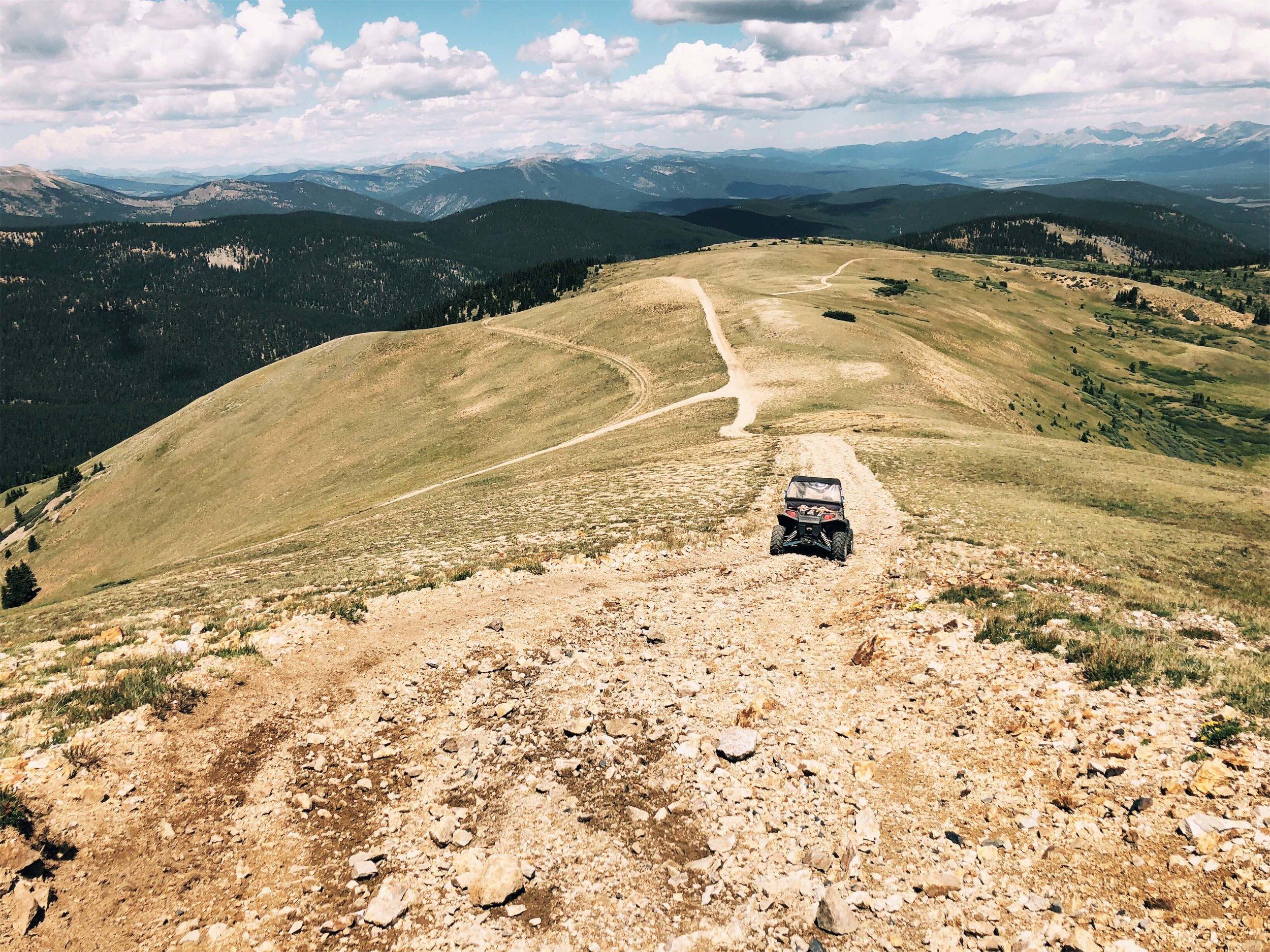 St. Elmo's ATV off road trail