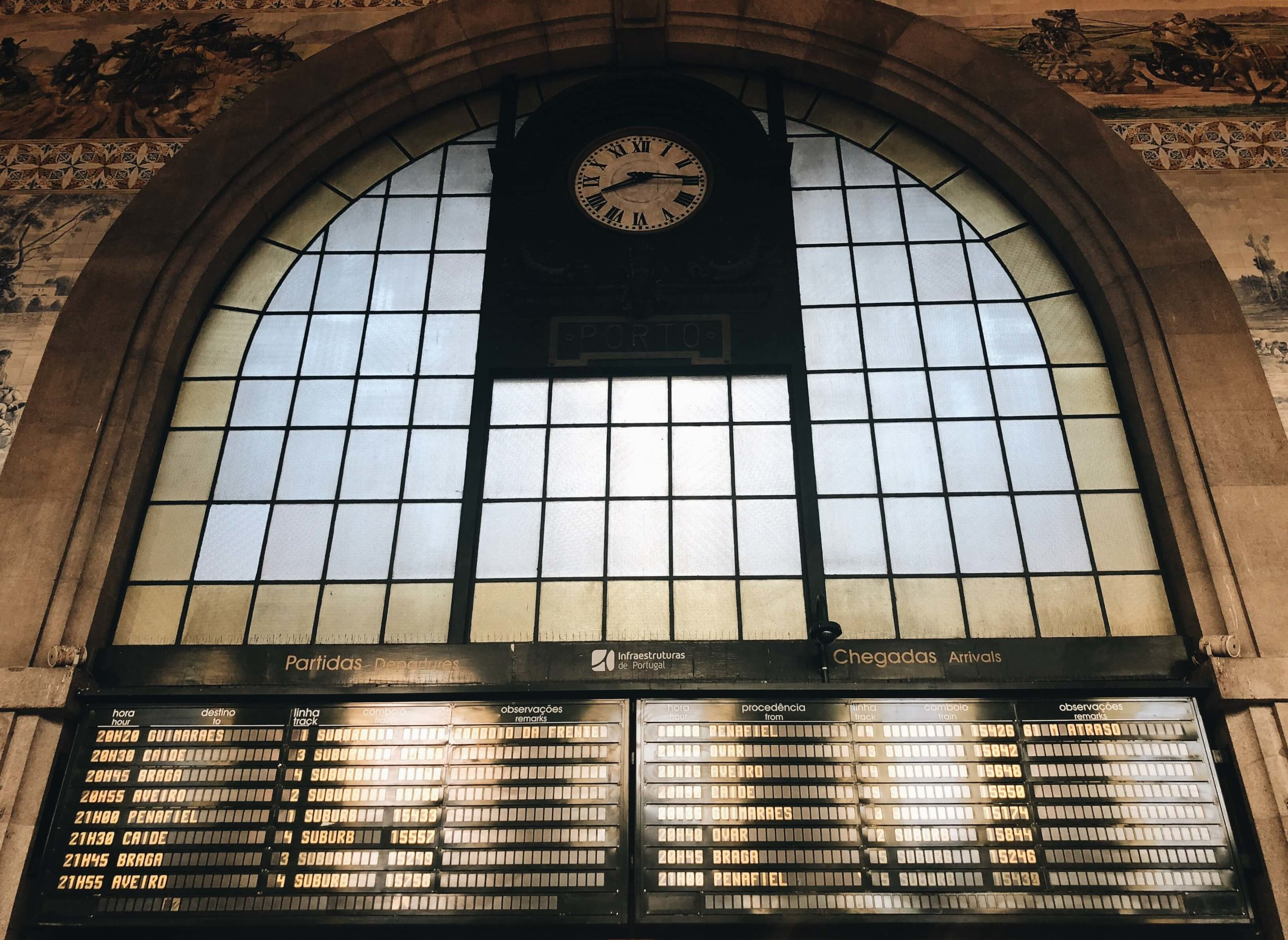 Sao Bento Train Station Porto