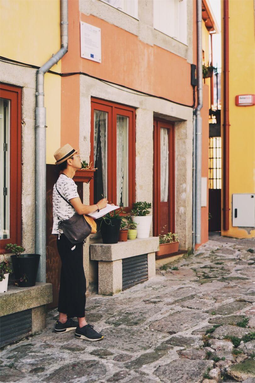 street artist Porto