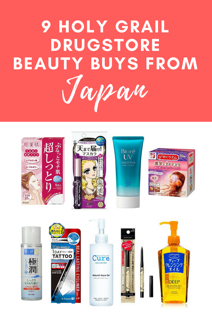 Best Must-Have Japanese Drugstore Beauty Products