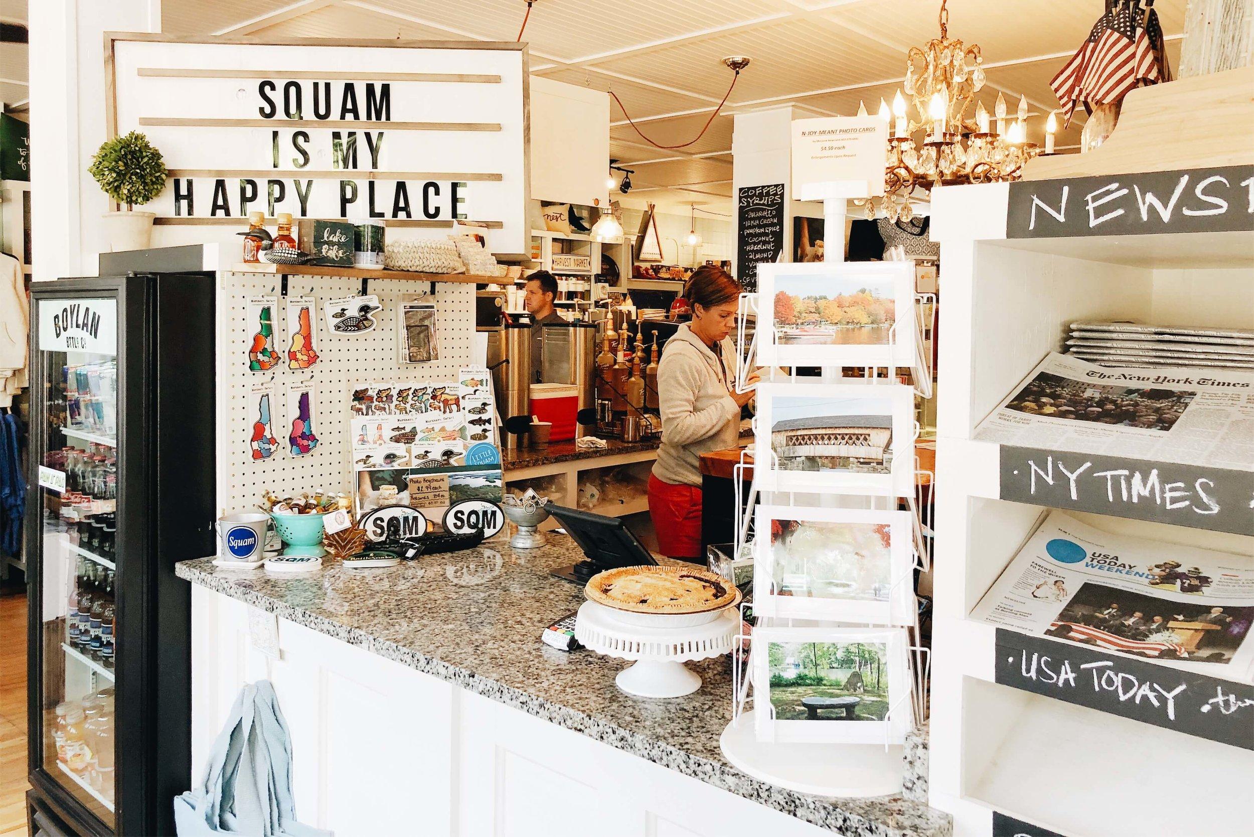 Squam Marketplace store