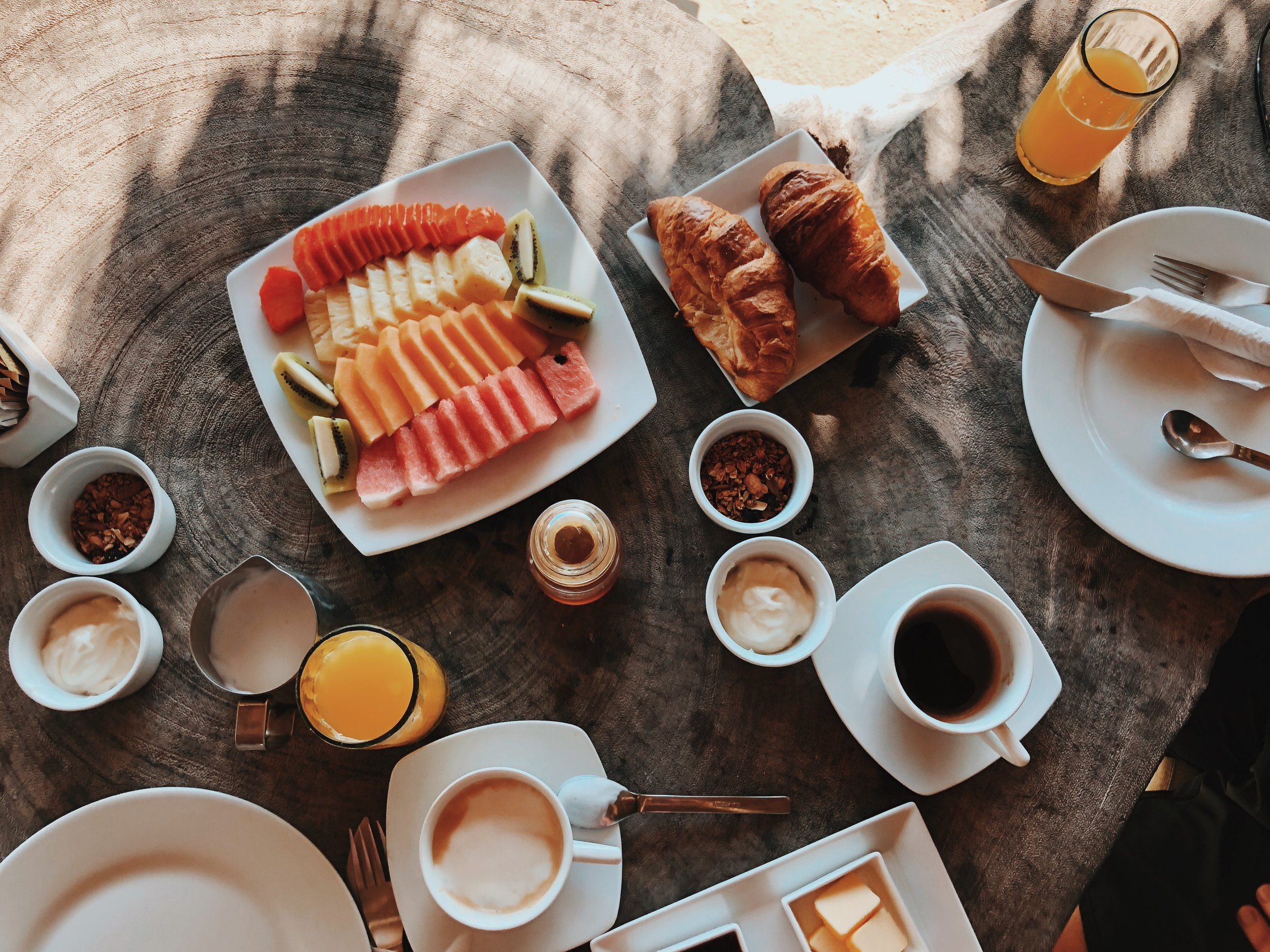 Tulum breakfast Suenos Hotel
