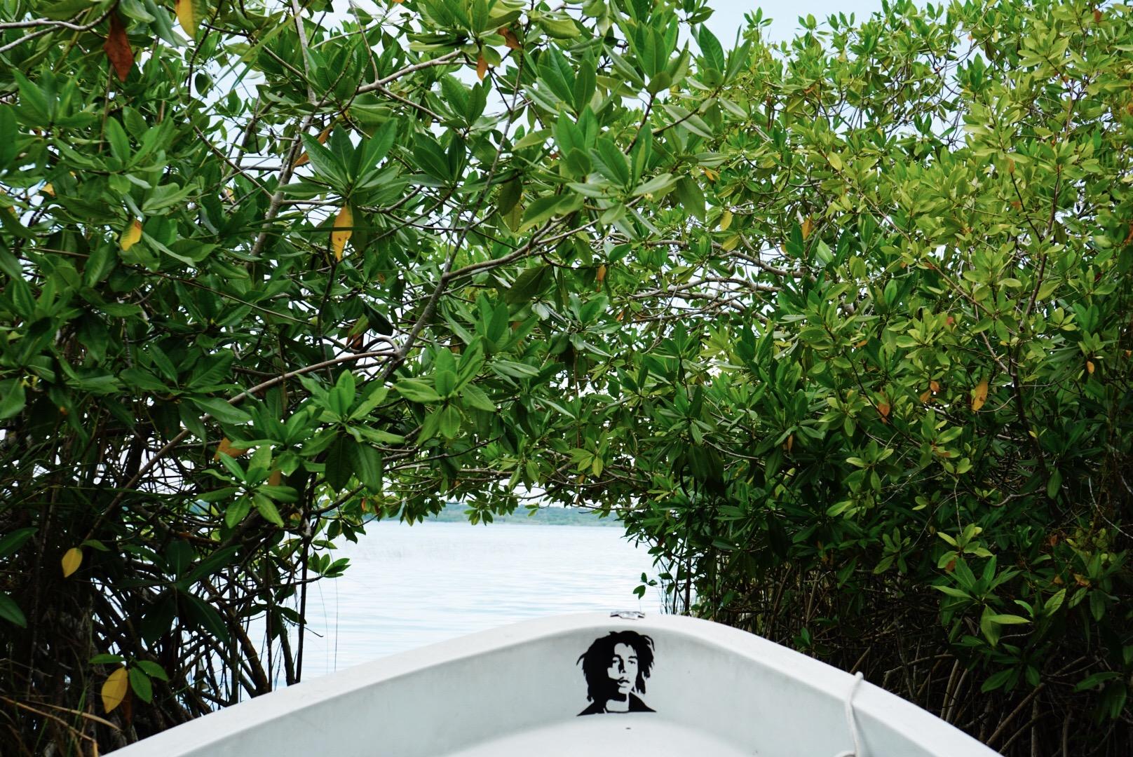 Tulum Si'an Ka'an canal boat tour