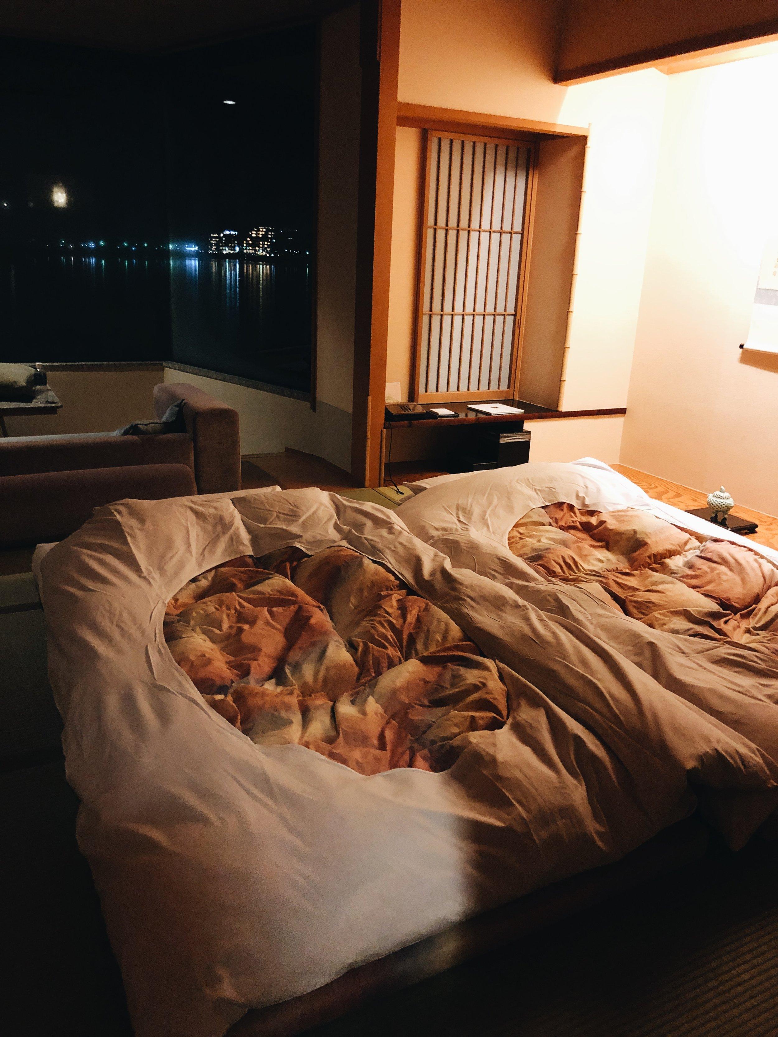 Kozantei Ubuya ryokan room Fujikawaguchiko
