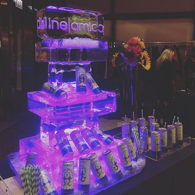 Ice sculpture bar display got me like 🤪😍 #bar #eventplanner #meetingplanners #eventprof #eventprofs #chicago