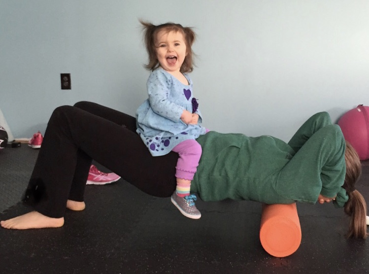 Family Yoga - Family friendly movement and fun for you and your little one!