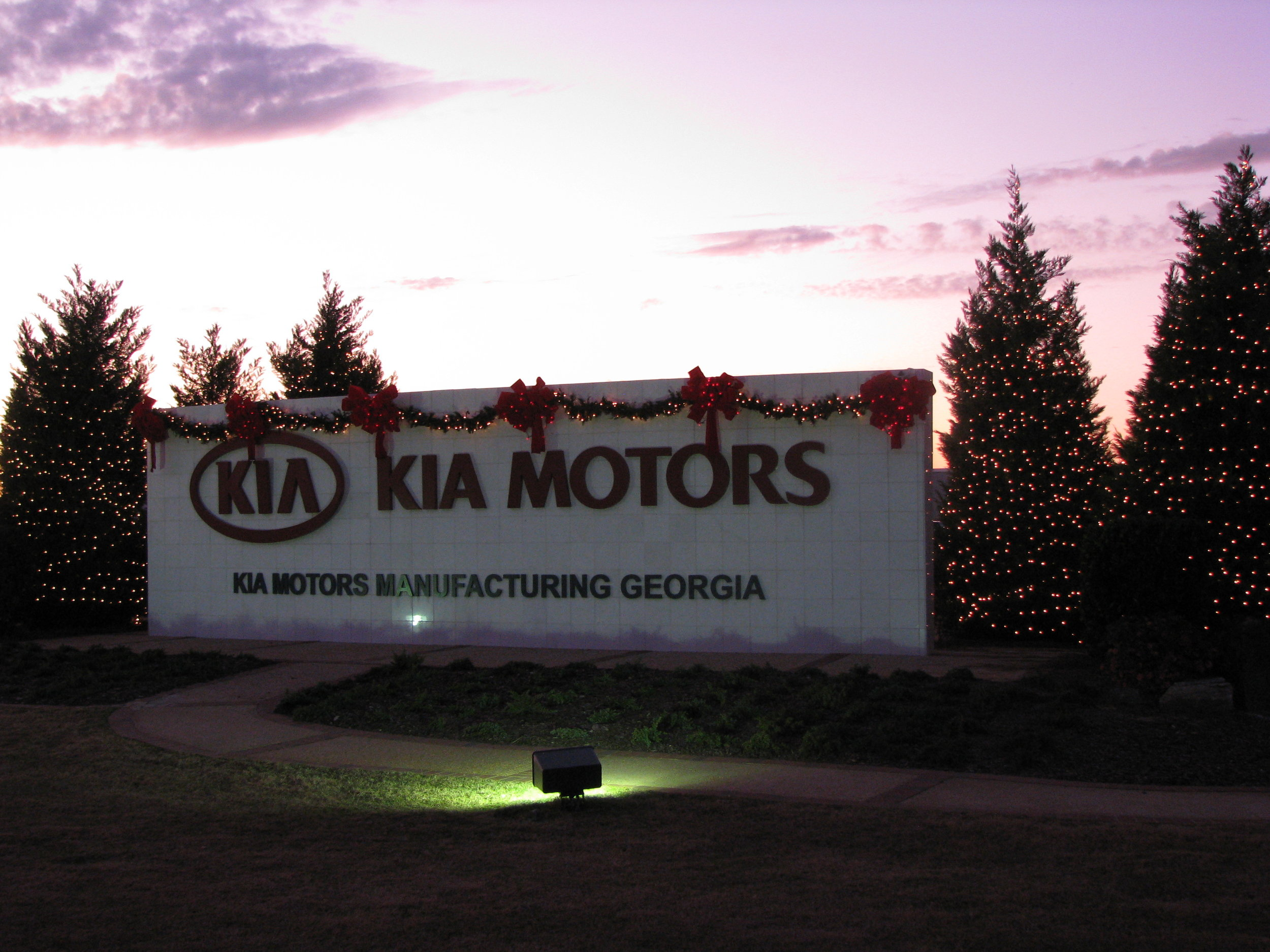 KIA Canteen Exterior and Front Sign Decorated 2011 (19).JPG