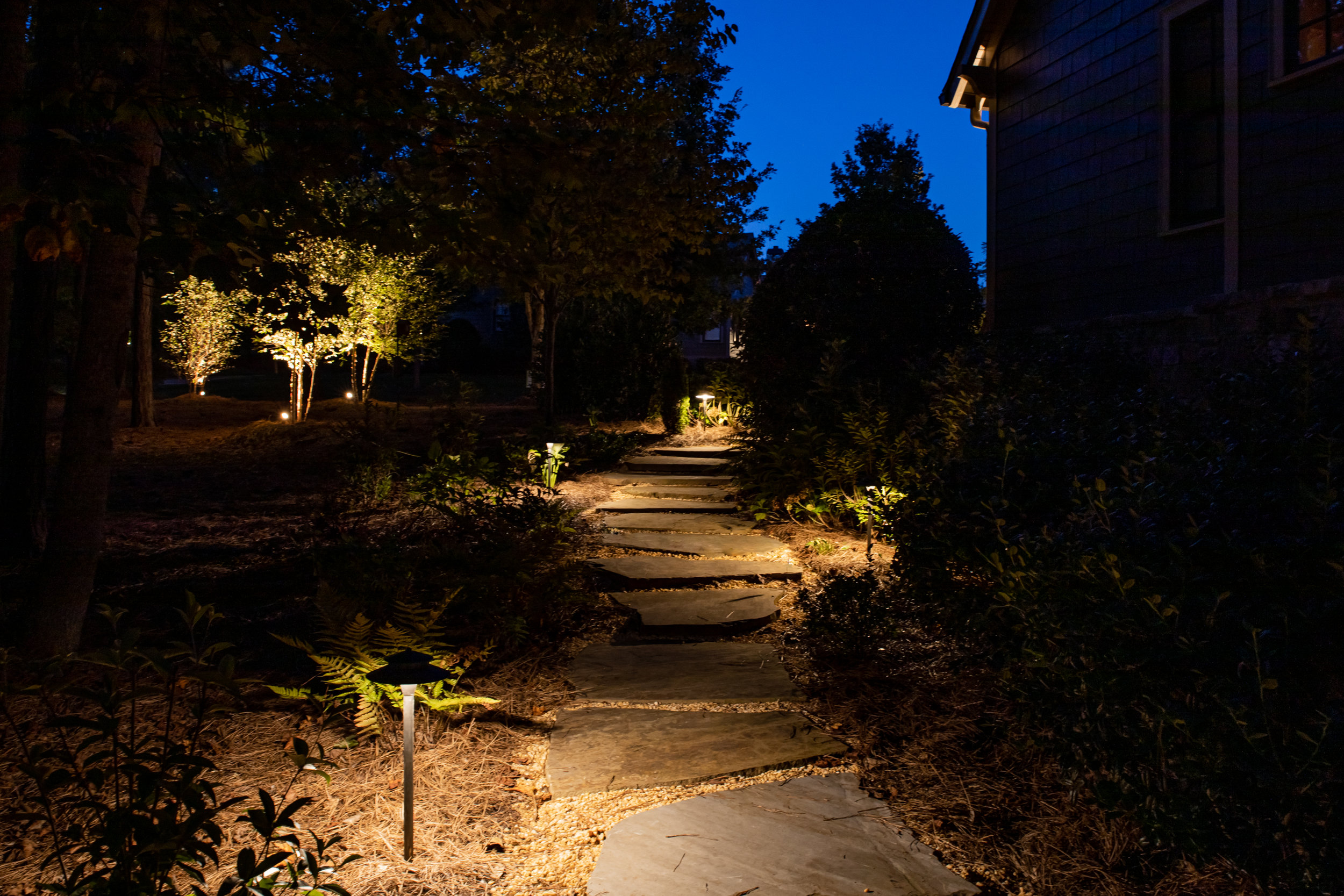 Shuster_landscape lighting path lighting
