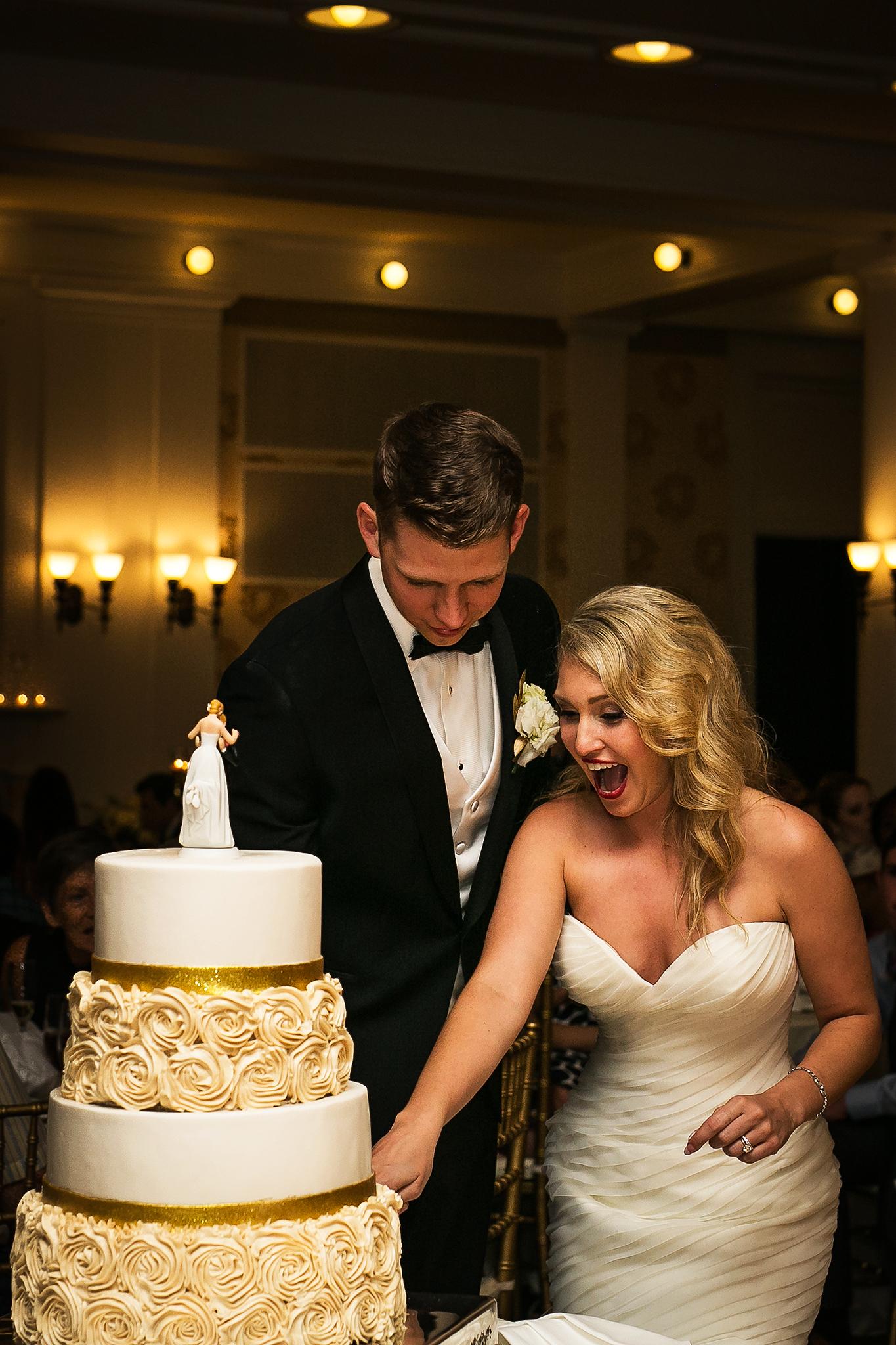 omni bedford springs cake cutting