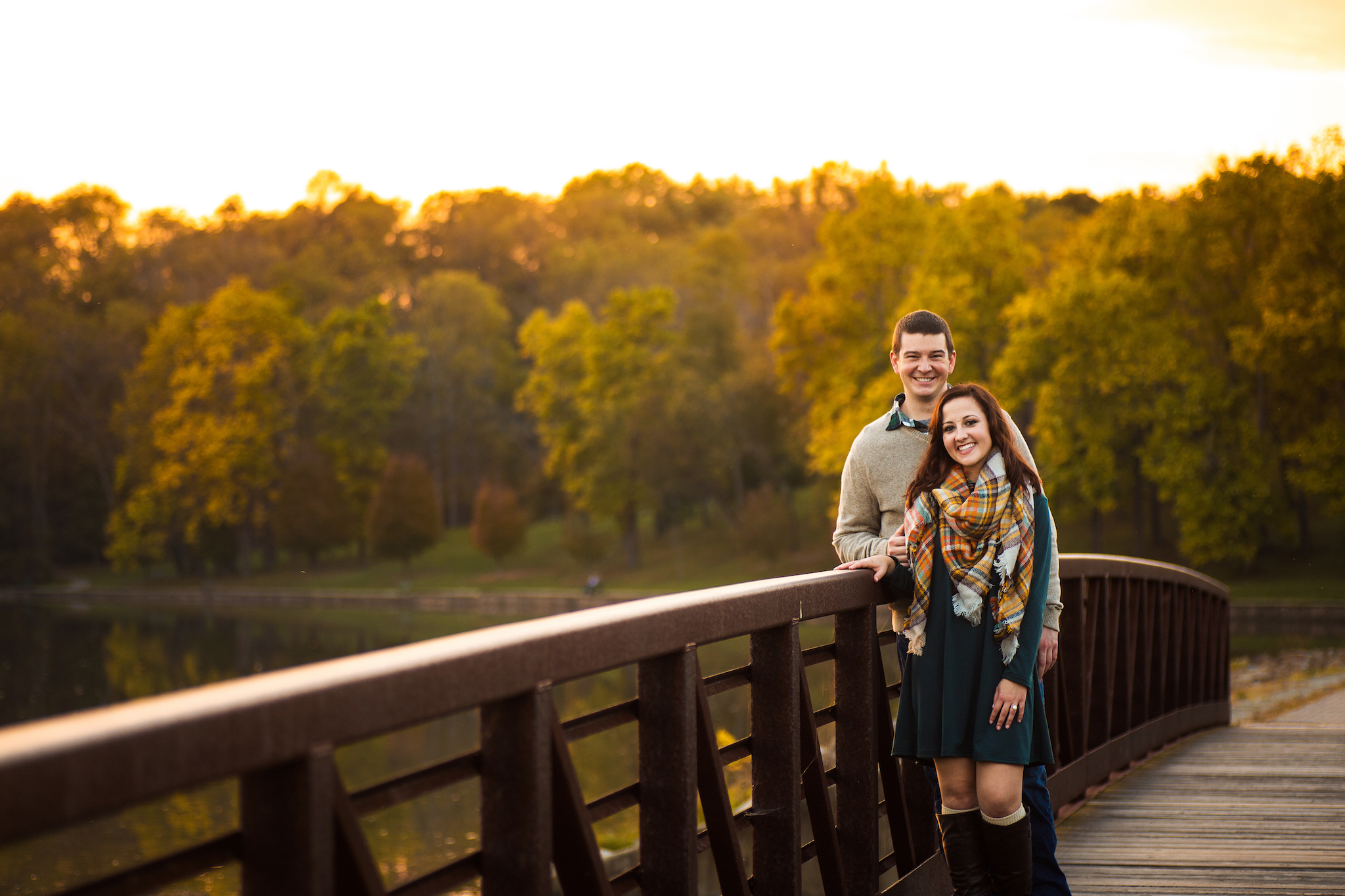 """When should we have our session?"" - Timing your session is dependent on many factors. Will the images be used on your save-the-dates? Will your session location look best at a certain time of day, or season? These are elements we can work out together to ensure an engagement session that is perfectly catered to you!"