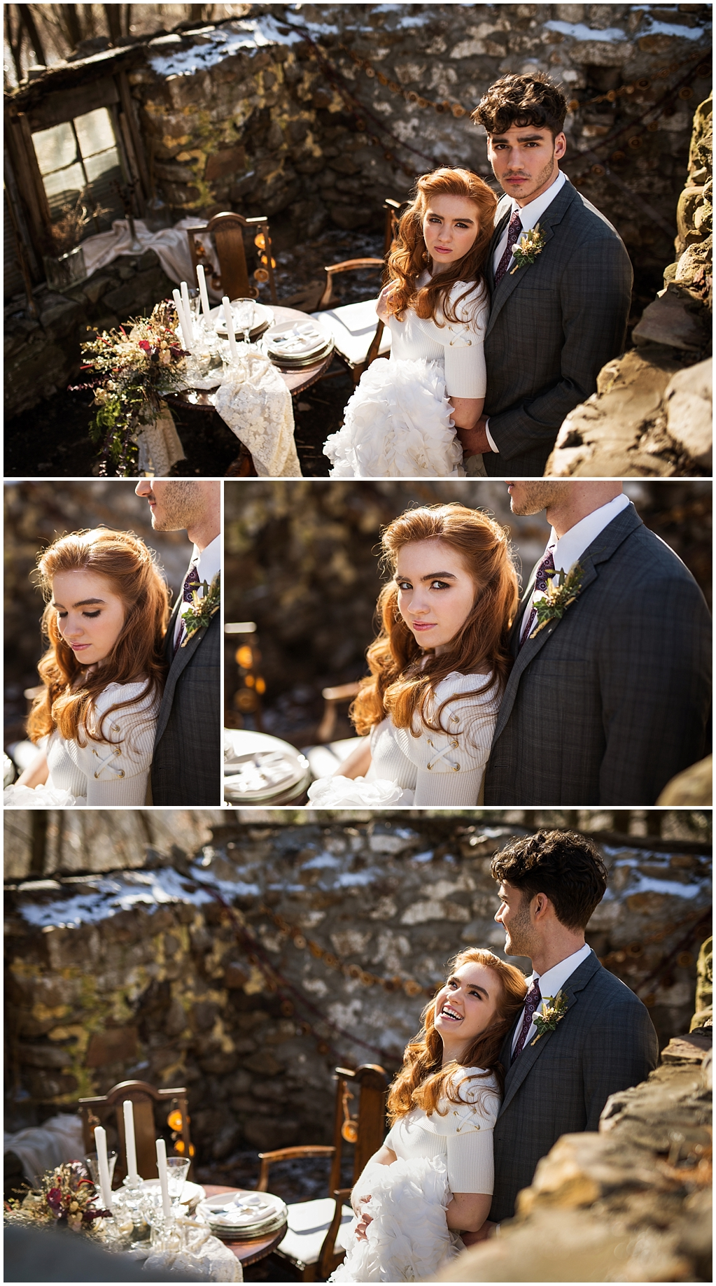 winter wedding styled photoshoot pittsburgh pennsylvania couple look 1