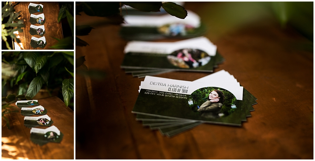 2018 Victoria Irene Photography Senior Representative Team Referral Cards