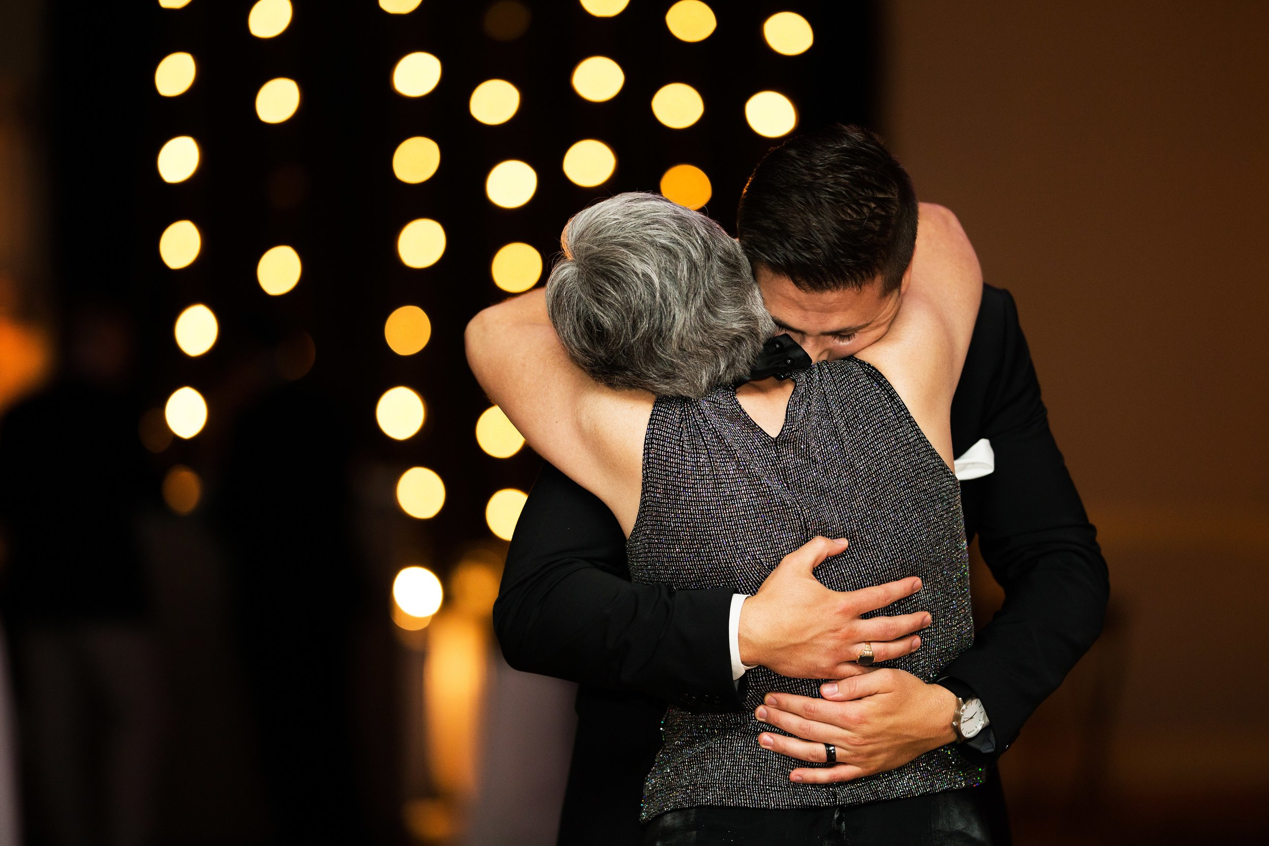 Emotional Mother/Son Dance