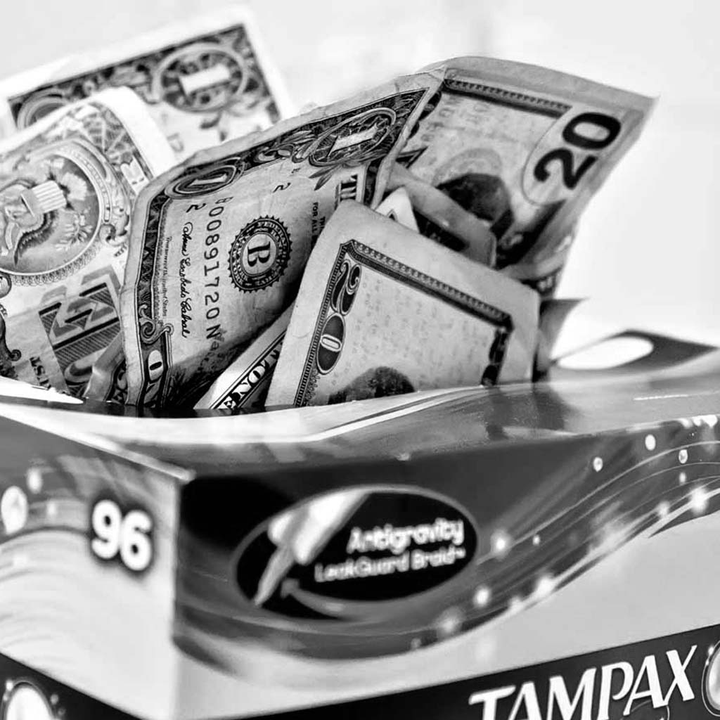 WHY ARE WE PAYING SALES TAX ON TAMPONS   January 26, 2016 / THE NATION