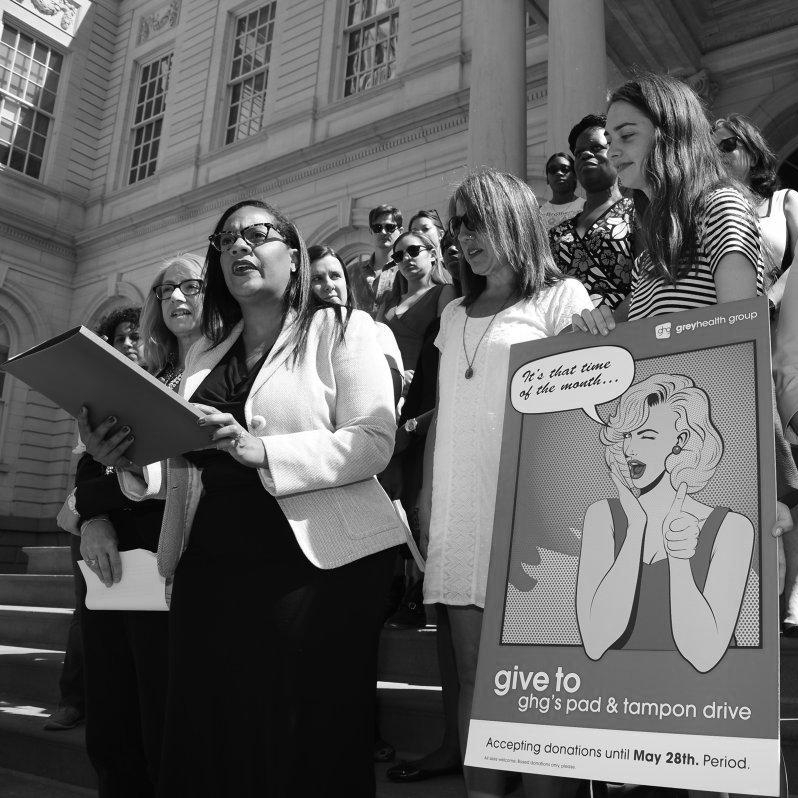 ON INTERNATIONAL WOMEN'S DAY AND EVERY DAY, FIGHT FOR MENSTRUAL EQUITY   March 8, 2018 / NY DAILY NEWS
