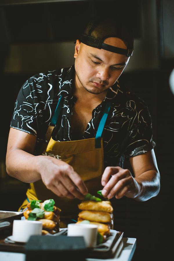 Chef Tom Cunanan of Bad Saint