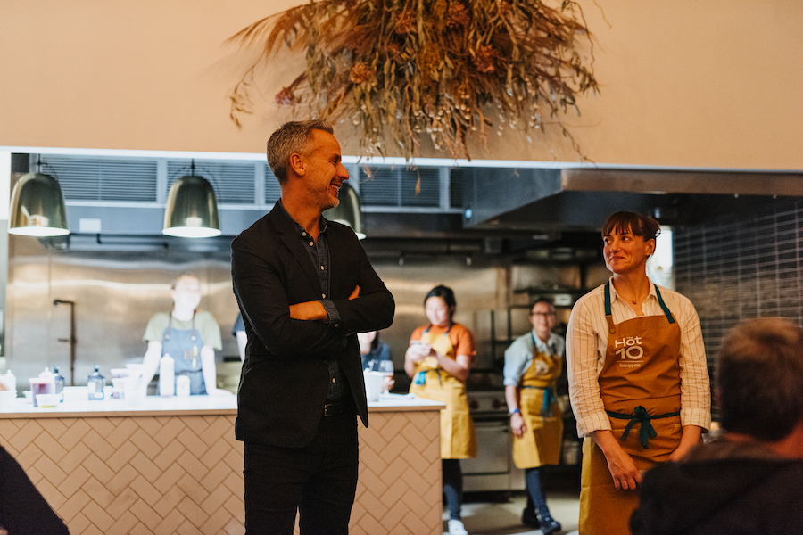 Bon Appétit EIC Adam Rapoport & Chef Angela Pinkerton of Che Fico