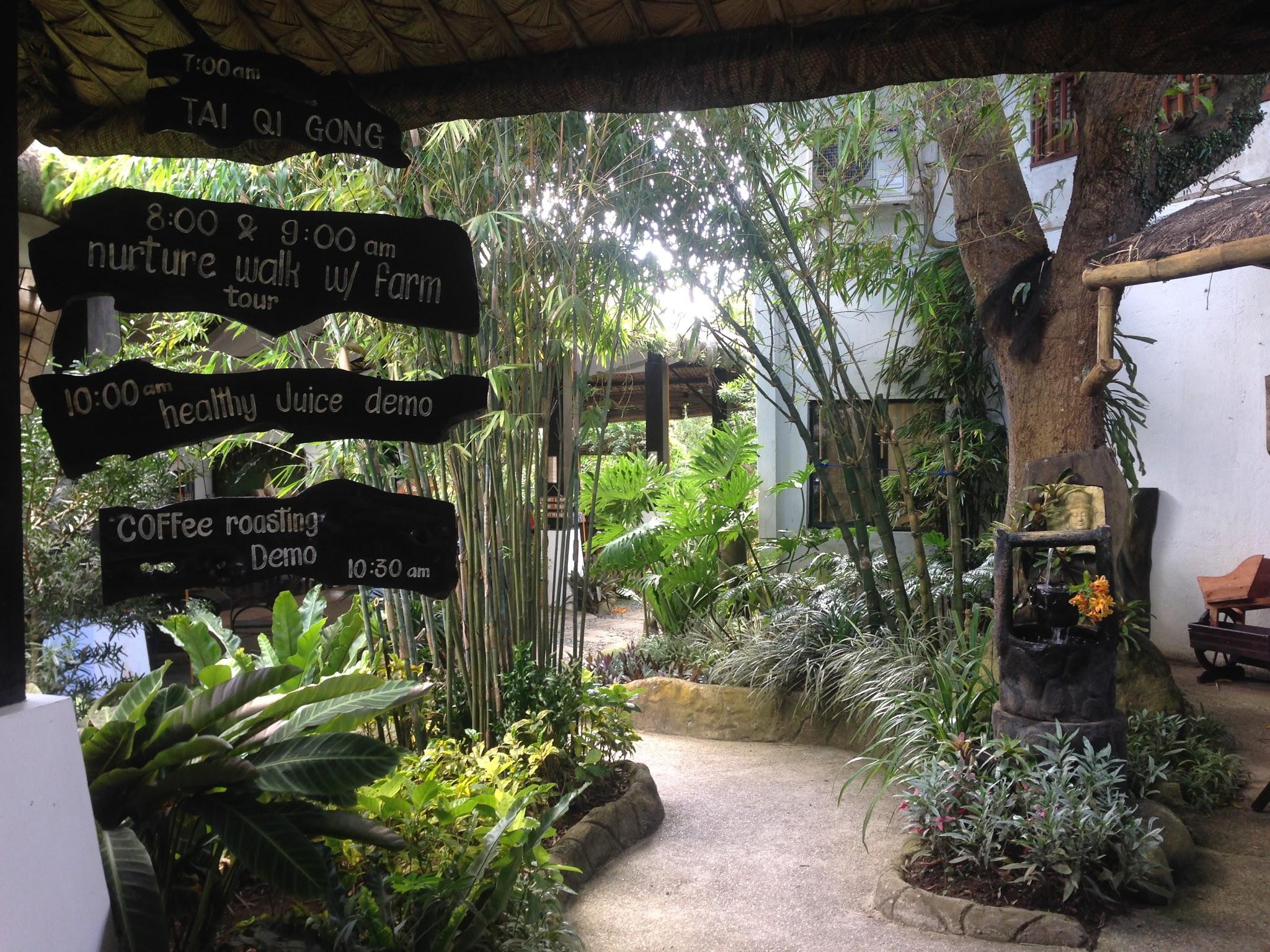 Entrance to Nurture Wellness Village