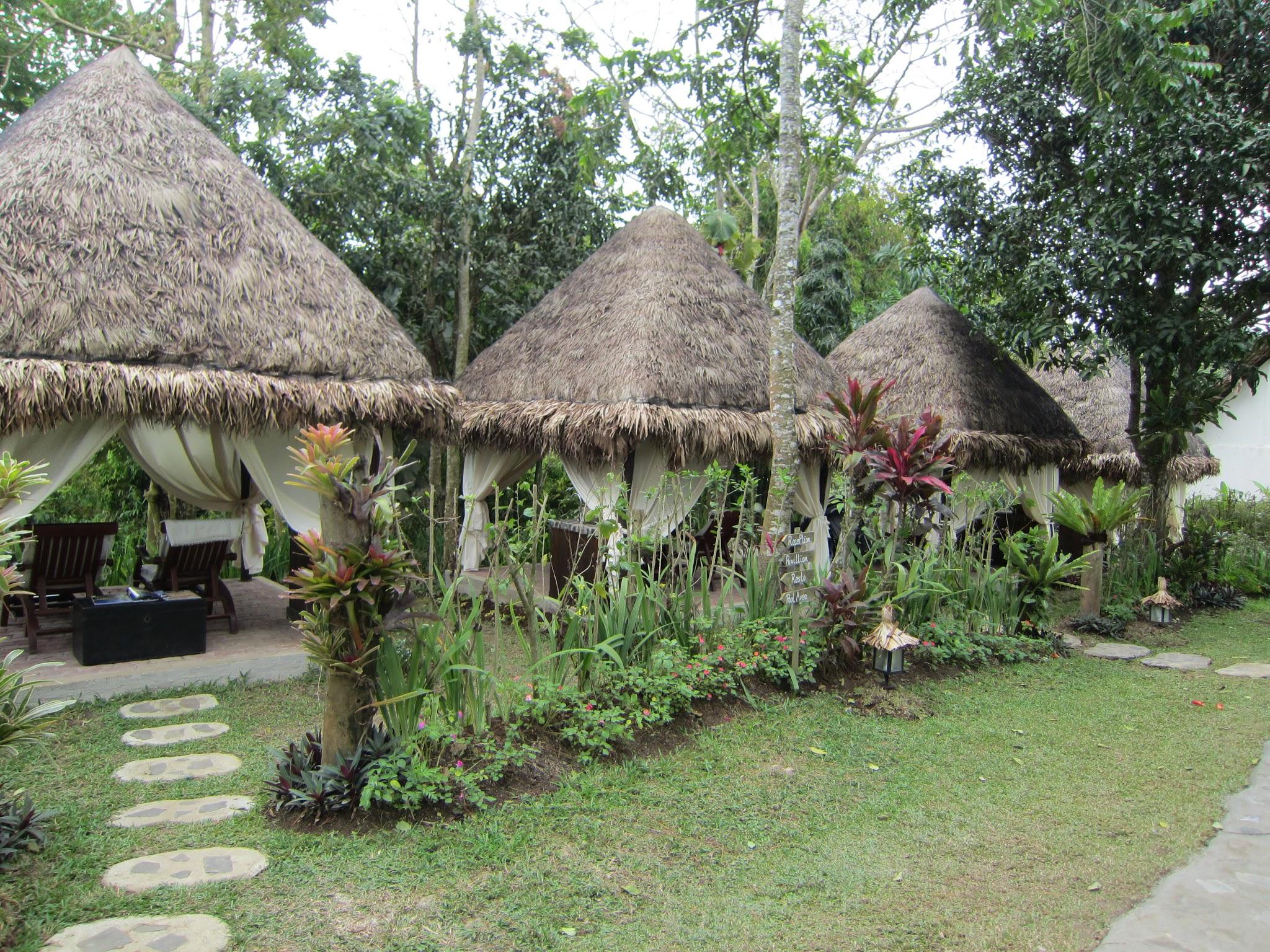 Massage huts