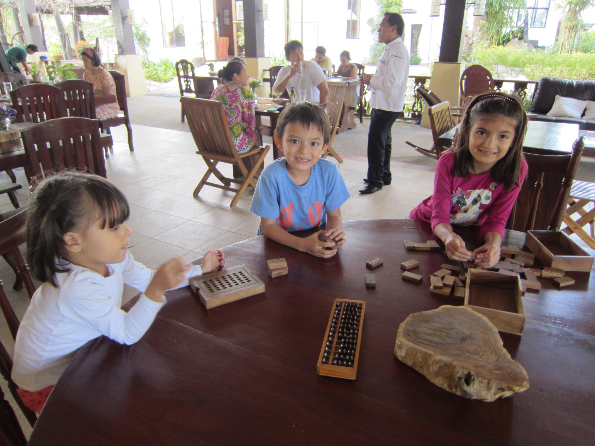 Games to play at the restaurant