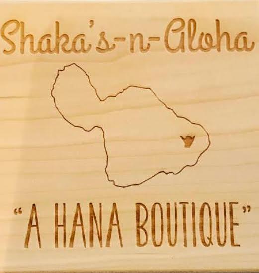 SHAKAS N ALOHA | A Hana Boutique  Email: shakasnaloha@gmail.com | (808) 866-9773