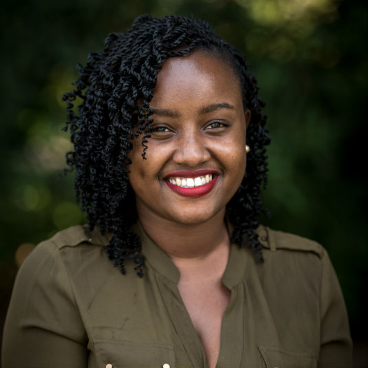 Wawira   Njiru , is the Founder and Executive Director of Food for Education.